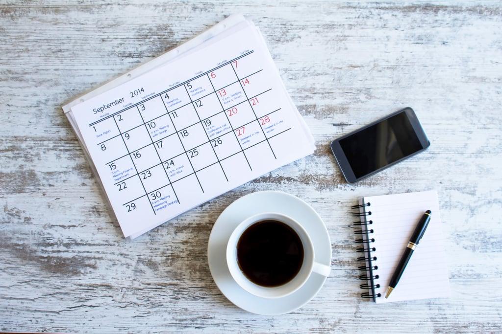 Make a Holiday Calendar
