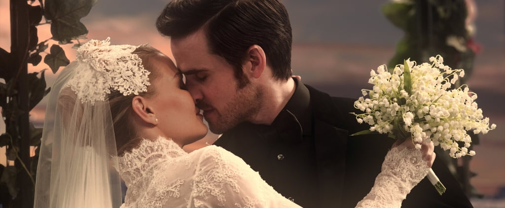 Captain Hook and Emma's Wedding on Once Upon a Time