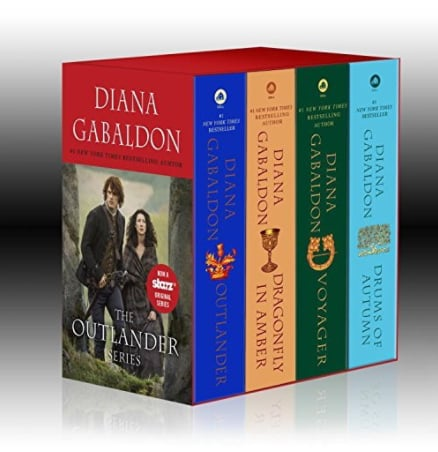 Boxed Set of the Outlander Books ($25)