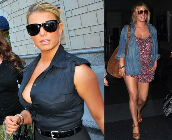 Photos of Jessica Simpson in New York City