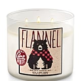 Flannel Candle ($25)