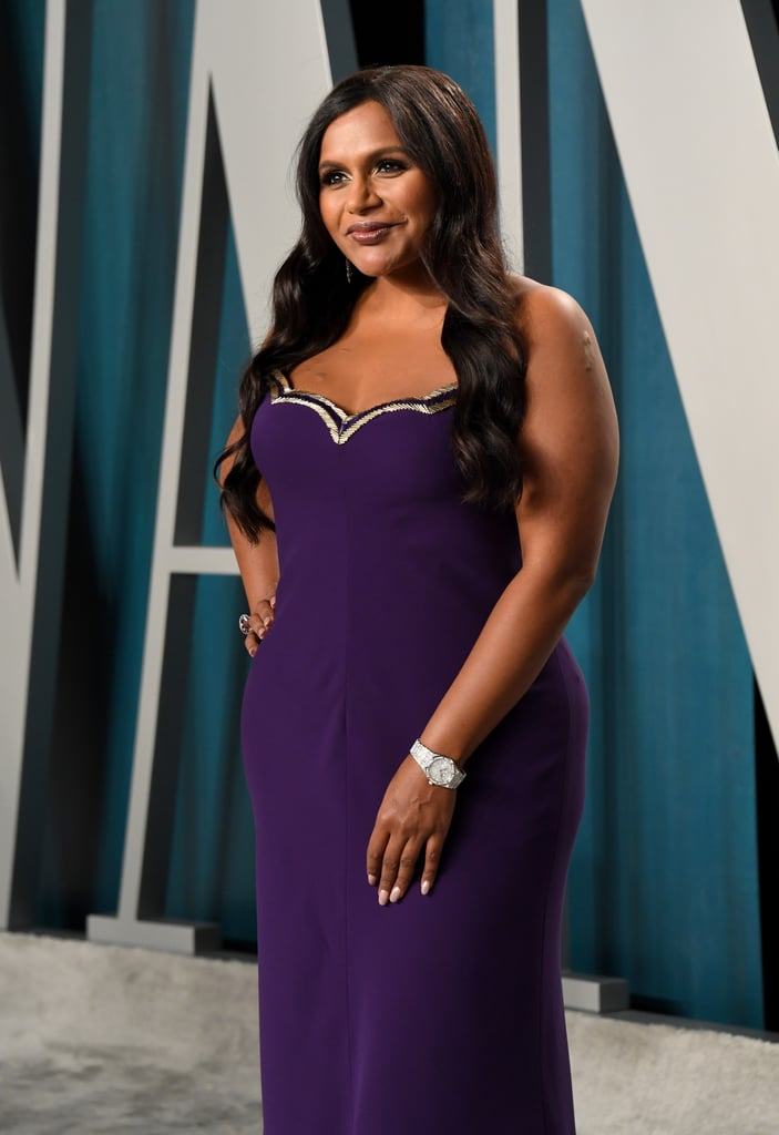 Mindy Kaling at the Vanity Fair Oscars Afterparty 2020