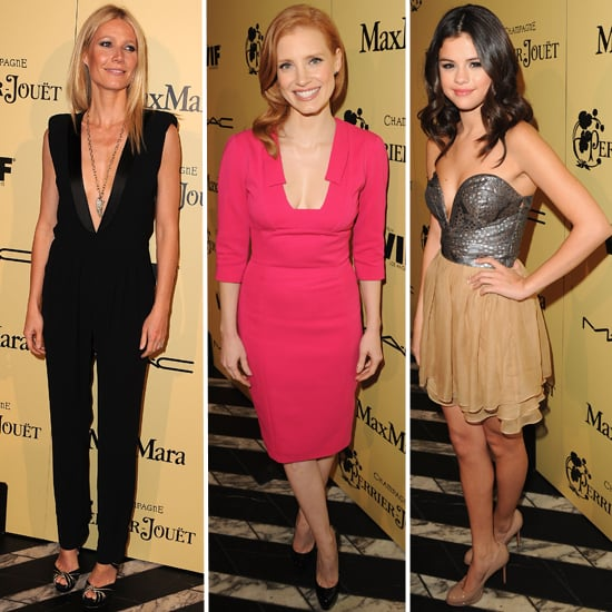 Gwyneth Paltrow, Jessica Chastain, Vanessa Hudgens, Selena Gomez & more frock up for the Women in Film Bash: