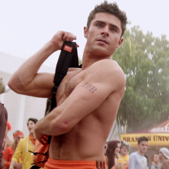 Zac Efron Shirtless Movie GIFs