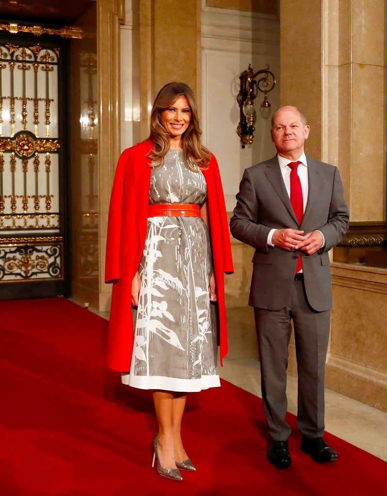 melania trump poland and germany style 2017  popsugar fashion