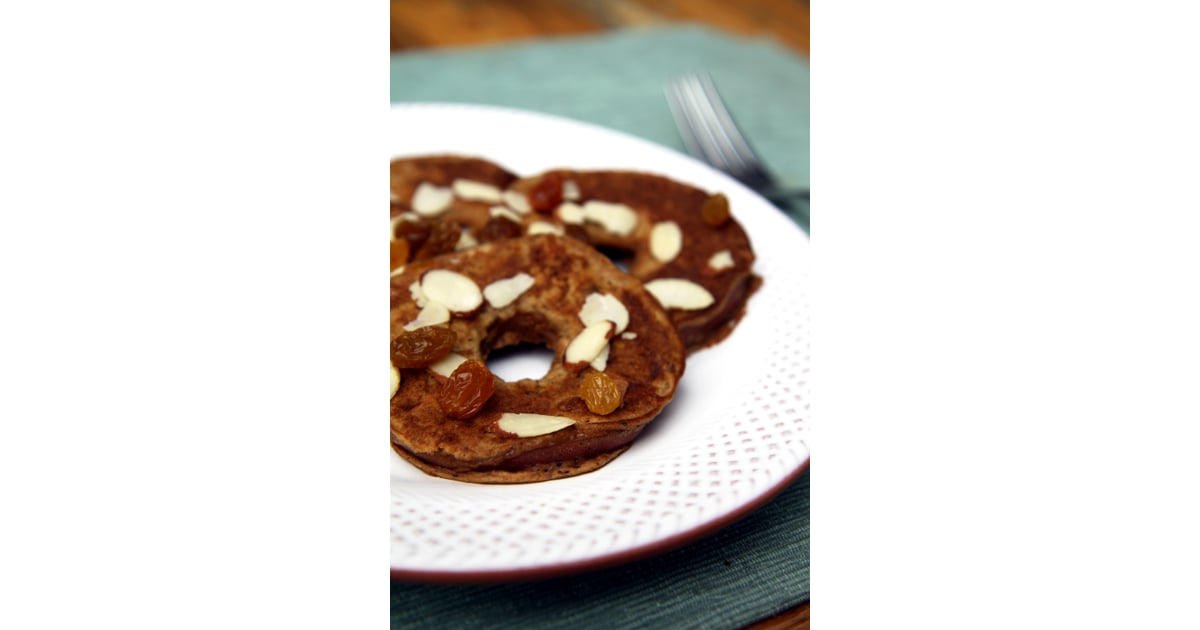 Healthy Apple Ring Pancakes