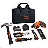 Cordless Rechargeable Screwdriver Project Kit