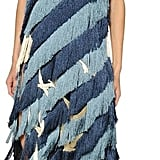 Marco De Vincenzo Fringed Crepe Dress