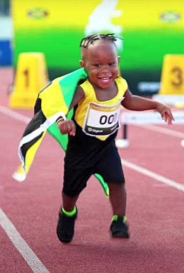 Watch Usain Bolt Narrate a Baby Olympics Spoof: Video