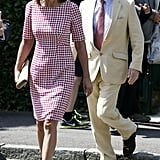 Carole Middleton in July 2014