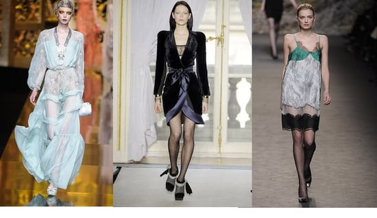 Fall 2009 Paris Trend Report: Street-Ready Lingerie
