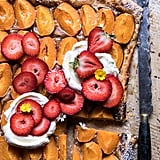 Honey Strawberry Apricot Tart