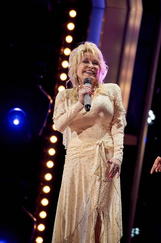 Dolly Parton at the 2019 CMA Awards