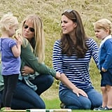 The Next Day, Prince George Had a Polo Playdate With His Cousins