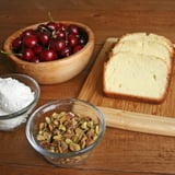 Grilled Pound Cake With Whipped Cream and Cherries