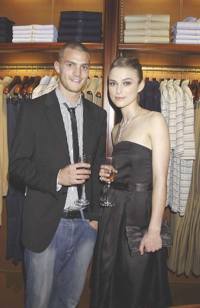 Jamie Dornan and Keira Knightley in 2004