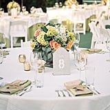 White, Silver, and Gold Place Settings