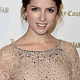 Anna Kendrick was decked out in sparkles.