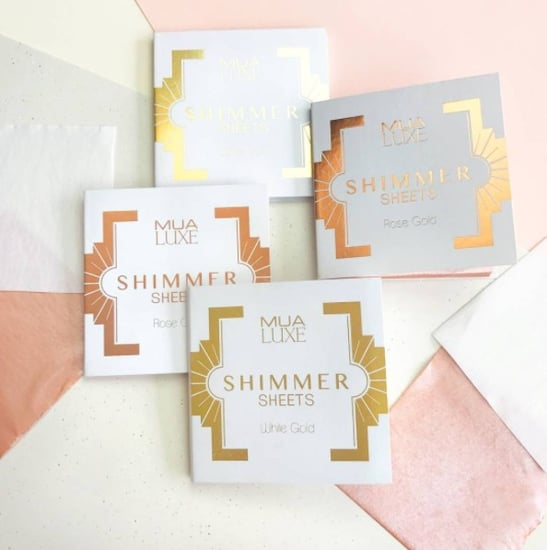 MUA Luxe Shimmer Sheet Highlighter