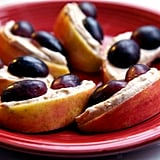 PB Apples With Grapes