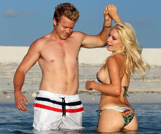 Bikini Photo of Heidi Montag with Shirtless Spencer Pratt in the Bahamas for Miss Universe