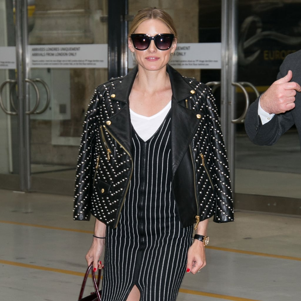 Olivia Palermo Airport Outfit | July 3, 2016