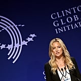 Kate addressed the Clinton Global Initiative.