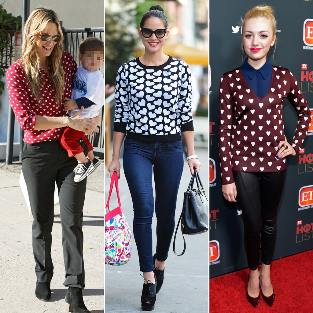Heart-Print Fashion For Valentine's Day