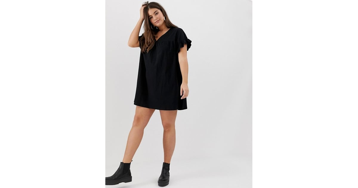 Asos Reversible Cotton Smock Dress Best Travel Dresses Popsugar