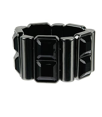 Jeweled Elastic Bracelet $7.80, Forever 21