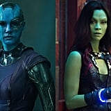 Nebula and Gamora From Guardians of the Galaxy