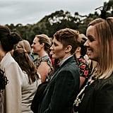Modern Outdoor Wedding