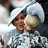 Kate Middleton and Zara Tindall
