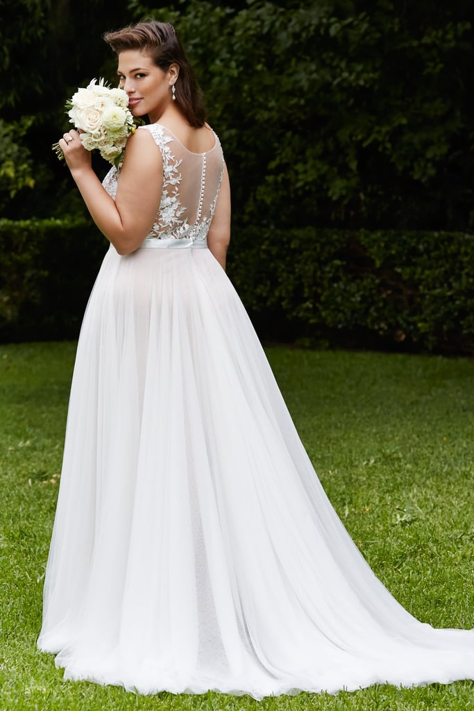 Ashley Graham robe de mariée grande taille