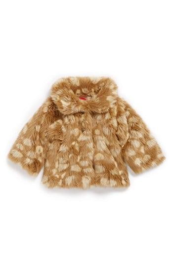 """Ruby & Bloom """"Mia"""" Faux-Fur Coat"""