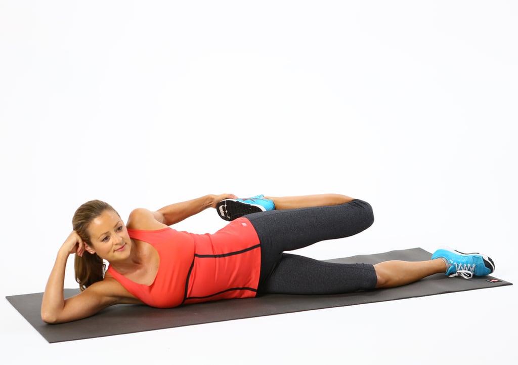 Quads: Lying Side Quad Stretch