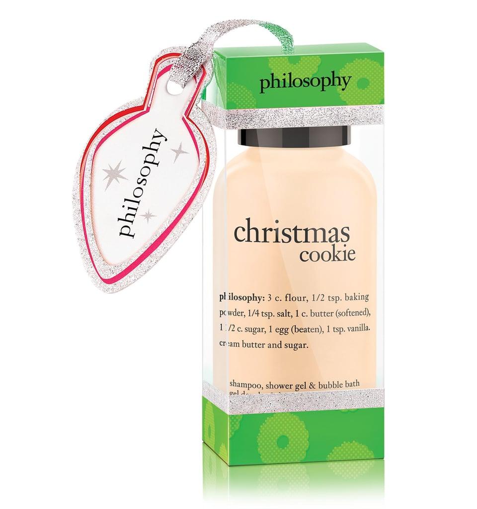 Philosophy Christmas Cookie Shower Gel Ornament