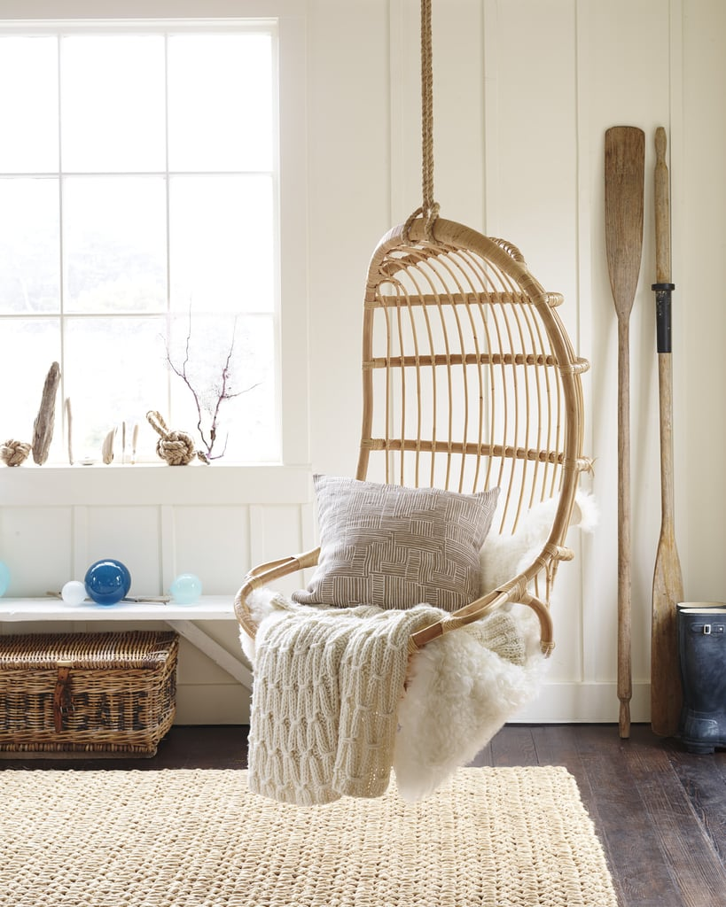 Hanging Rattan Chair ($295)