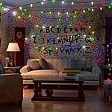 Stranger Things-Inspired '80s-Style Living Room
