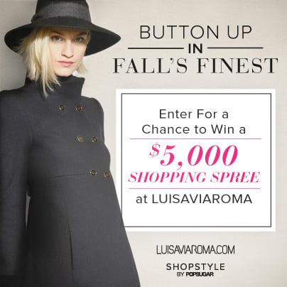 Enter For a Chance to Win a $5,000 Shopping Spree at Luisaviaroma