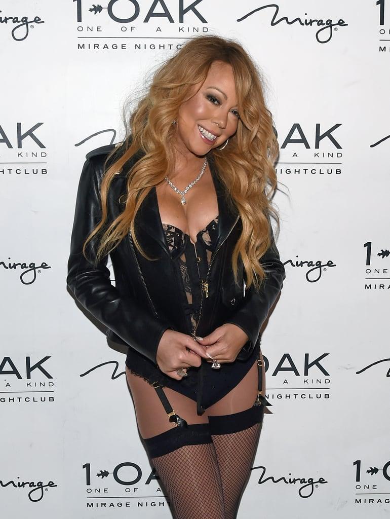 Mariah Carey at 1 OAK Nightclub DJ Set Debut Pictures