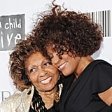 September 2010: With Mother Cissy at the Keep a Child Alive's Black Ball