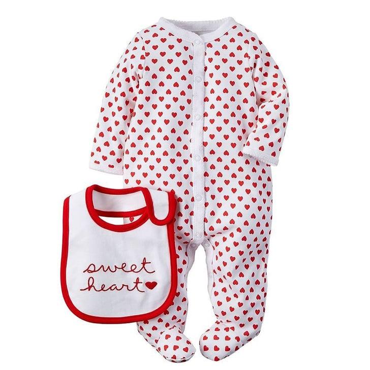 Minnie Mouse Heart Pajama Set | Kids' Valentine's Day Pajamas ...