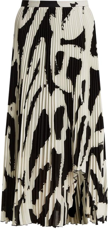 3b61d7d4c3 Proenza Schouler Graphic-Print Skirt   Victoria Beckham Wearing ...