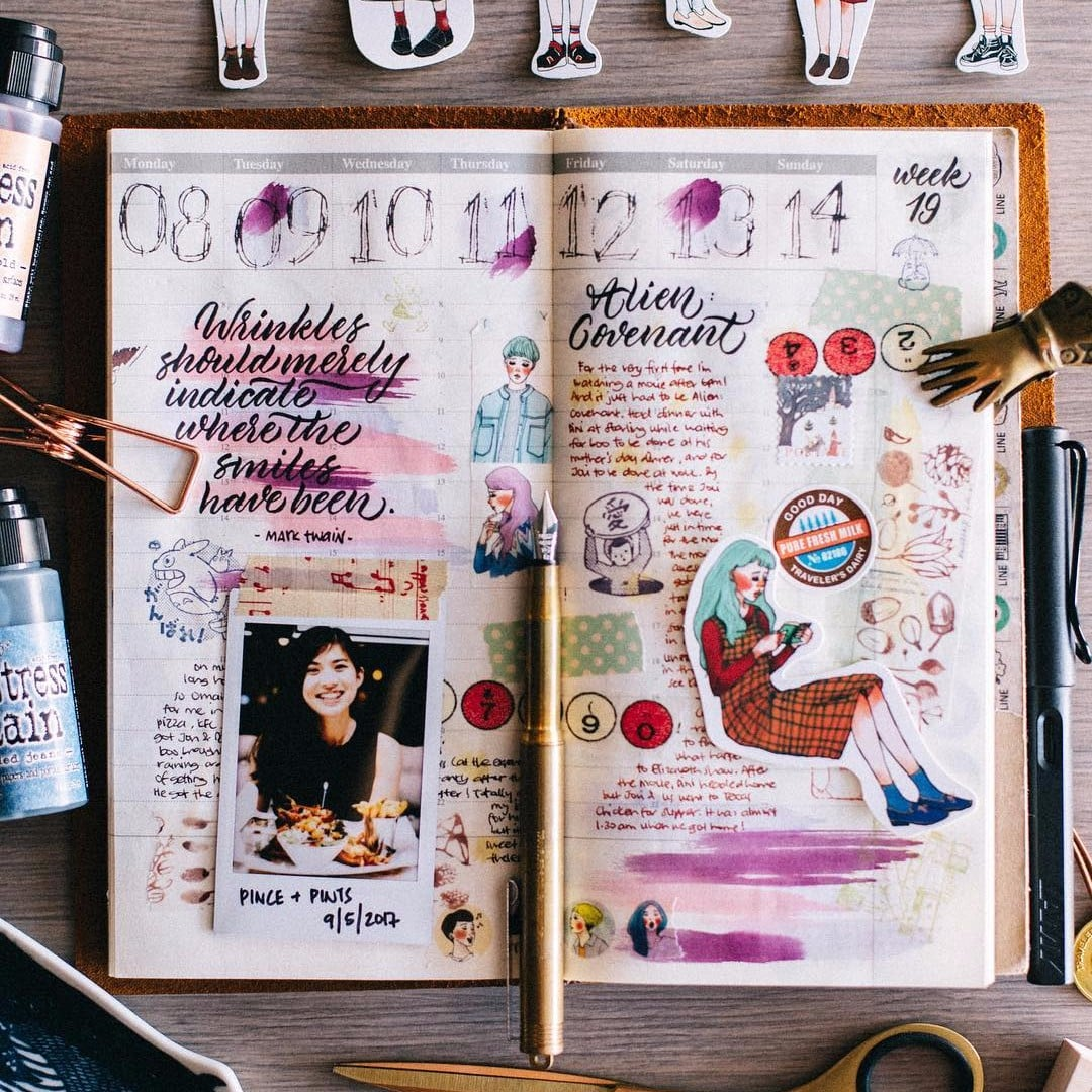 Diy Travel Journal Ideas Popsugar Smart Living