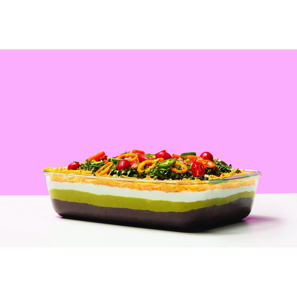 "Pyrex Deep 9"" x 13"" Bakeware Dish With Sage Lid"