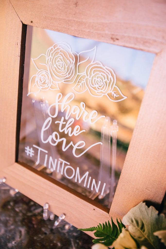 #TinitoMini #ThisIsOurWeddingHashtag #TandGForBestWeddingEver