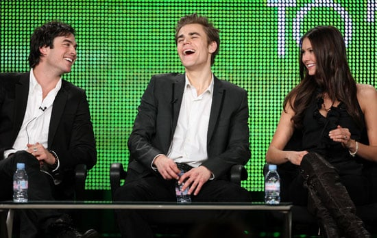 Exclusive Interview With the Vampire Diaries' Nina Dobrev, Ian Somerhalder, and Paul Wesley