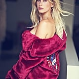 Hailey Baldwin Guess Campaign Holiday 2016