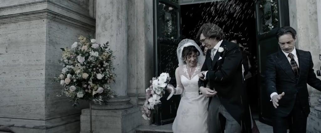 Patrizia Reggiani's 1972 Lace Wedding Dress